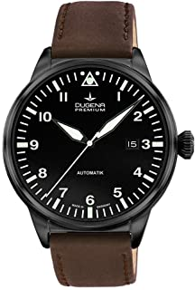 Dugena - Reloj Analógico para Hombre de Automático con Correa en Cuero 7000308