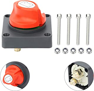cciyu Battery Isolator Switch Battery Master Switch Isolator for Power Disconnect Cut Off