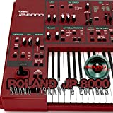 para ROLAND JP-8000 Gran Fábrica Original & NUEVO Creado Biblioteca de Sonido & Editores en CD o descargar