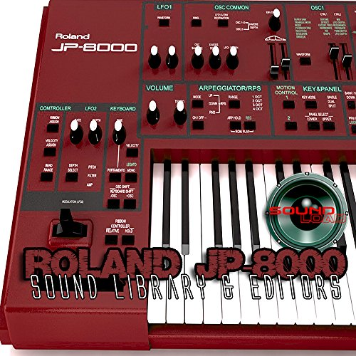 Best Price! for ROLAND JP-8000 Large Original Factory & NEW Created Sound Library & Editors on CD or...