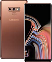 Samsung Galaxy Note 9 (SM-N960F/DS) 6GB / 128GB (Metallic Copper) 6.4-inches LTE Dual SIM (GSM ONLY, NO CDMA) Factory Unlocked - International Stock No Warranty
