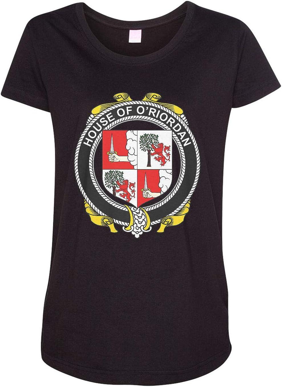 HARD EDGE DESIGN Women's Irish House Heraldry O'Riordan T-Shirt