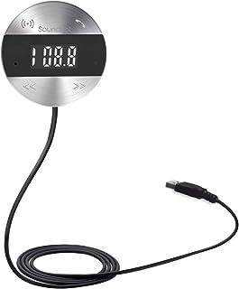 SoundBot SB360 Bluetooth 4.0 Car Kit Hands-Free Wireless Talking & Music Streaming Dongle w/ 10W Dual Port 2.1A USB Charge...