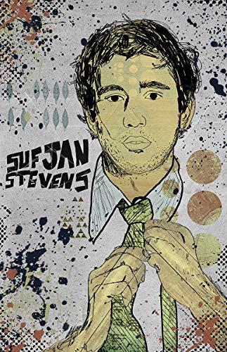 Sufjan Stevens - Pop Art Poster/Wall Art/Limited Edition of 100 / Indie Music