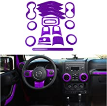 purple wheel trims