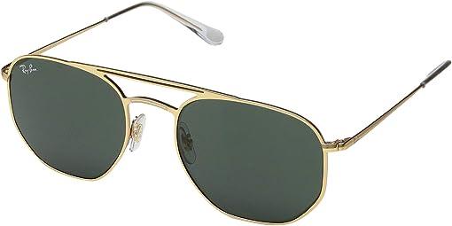 Demi Gloss Gold/Green
