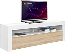Comifort AP84B/S – Mueble TV Salón Moderno Mesa Televisi