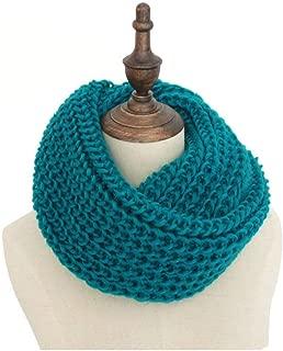 Fashion Unisex Winter Scarf Knitted Scarves Collar Neck Warmer Woman's Crochet Ring Spain Loop Women Lady