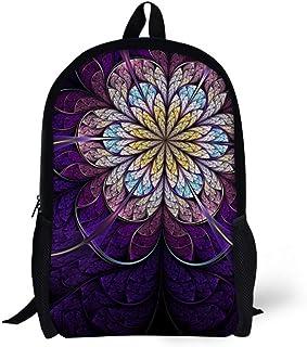 Ledback Vintage Floral Backpack for Teenager Girls Art Chinese Style School Bag