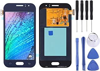 iPartsBuy for Replacement LCD Screen and Digitizer Full Assembly (TFT Material) for Galaxy J1 Ace, J110, J110M, J110F, J110G, J110L (Gold) (Color : Blue)