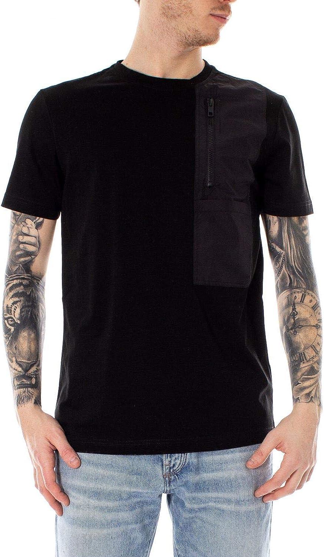 ANTONY MORATO Men's MMKS01501FA100084BLACK Black Cotton TShirt