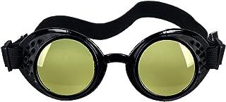 نظارات FOCUSSEXY Rave Steampunk عتيقة مشكال منشور نظارات فرق عدسات الكريستال
