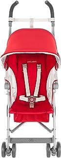 Maclaren Globetrotter - Silla de paseo rojo Cardinal/White