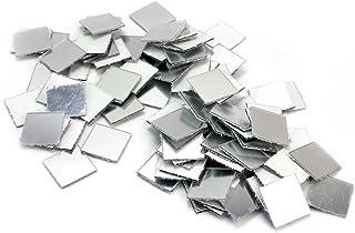 100 x Nuevo Pegatina Pared Espejo Cuadrado Mosaico 2x2cm Decoración para Casa