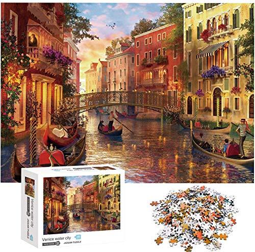 Puzzle 1000 Teile, Puzzle 1000 Teile Erwachsene, Klassische Puzzle...