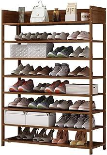 JJZXT Chaussures étagère à Chaussures en Bois étagère de Rangement Chaussures Organisateur, Chaussures en Rack Porte d'ent...