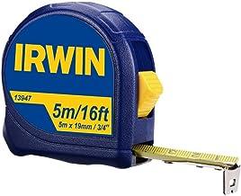 Irwin, Trena Manual Standard 5 Metros, Azul e Amarelo
