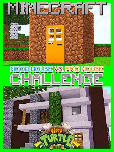 Clip: Tiny Turtle - Noob House vs. Pro House Minecraft Challenge!