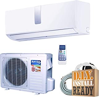 Ramsond SUPER Efficiency 12,000 BTU 1 Ton Inverter Ductless Mini Split Air Conditioner and Heat Pump - 110V/60Hz