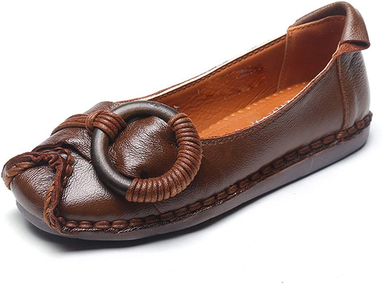 LZW Rutschfest Niedrige Hilfe Weich Flache Schuhe Verschleifest Flacher Mund Geschlossen Frauen Schuhe