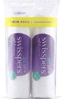 Swisspers Twin Pack Make-Up Pads