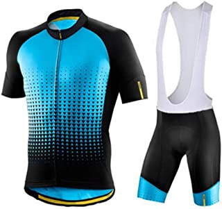Mens MTB Cycling Jersey Sets Pro Team Clothing Summer Bicycle Shorts 9D Gel Pad BikeSportear