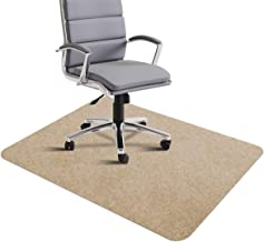 "Office Chair Mat, Hard Floor Mat for Desk, 1/6"" Thick 35""x55"" Low-Pile Desk Chair Mat for Hardwood Floors, Multi-Purpose P..."