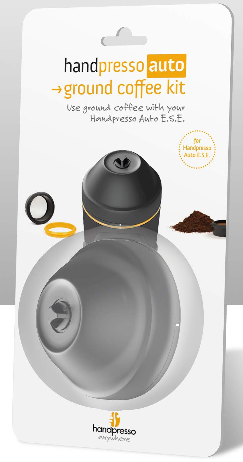 Handpresso Auto Ese - Kit Adaptador para café molido (20 x 10 x 4 cm), Color Negro: Amazon.es: Hogar