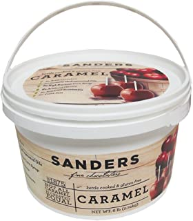 Sanders Pail of Real Caramel for Caramel Apples - All Natural, Kettle Cooked, 6 lb