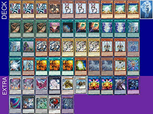 YUGIOH Tournament Ready Blue-Eyes Deck with Complete Extra Deck and Exclusive Phantasm Gaming Token