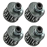 ESUPPORT 12mm Mini Carbon Fiber Universal Car Motor Cone Cold Clean Air Intake Filter Turb...