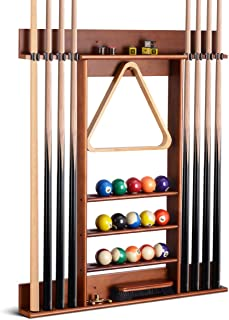 VGEBY1 Billiard Cue Racks Portable 5 Cue Holder Snooker Stick Indoor Storage Hard Glue Fixed Accessories