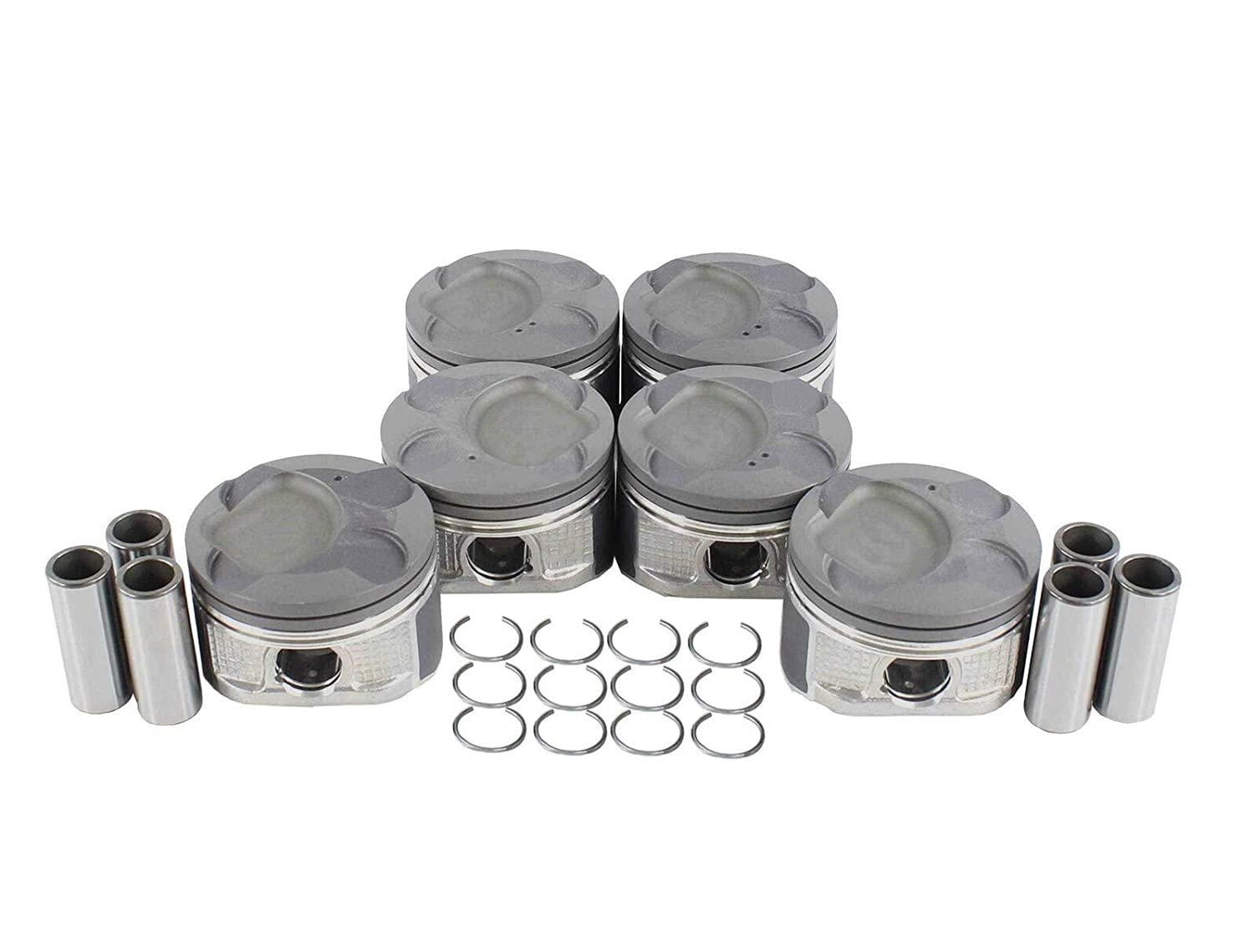 1 Set of Piston Reservation STD Size Lexus with 06-15 Compatible half IS250 2.5L