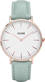 CLUSE Womens Analogue Classic Quartz Wrist Watch with Leather Strap CL18021