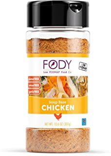 Fody Foods Chicken Soup Base | Natural Flavor | Low FODMAP Certified | Gut Friendly No Onion No Garlic | IBS Friendly Kitchen Staple | Gluten Free Lactose Free | 10.6 Ounce