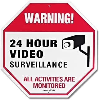 adt video surveillance sign