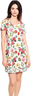 Rösch Be Happy! 1212010-11795 Women's Flower Cotton Nightdress