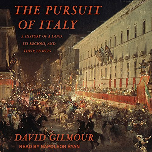 The Pursuit of Italy audiobook cover art