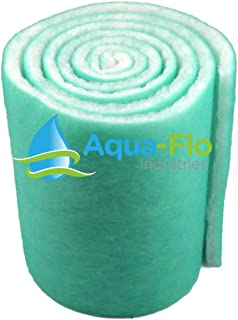 "Aqua-Flo 12"" Pond & Aquarium Filter Media, 72"" (6 Feet) Long x 1"".."