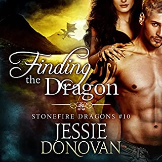 Finding the Dragon audiobook cover art
