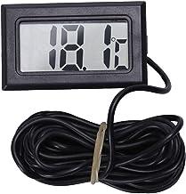 CUHAWUDBA Thermometer LCD Digital -50 Grados Celsius 110 Grados Celsius Medidor De Temperatura Medidor De Temperatura, 3 Metros