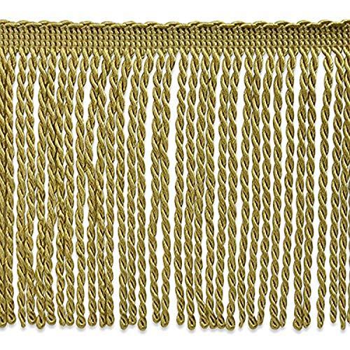 Expo International Lettie Skinny Bullion Fringe Trim Embellishment, 20-Yard, Gold