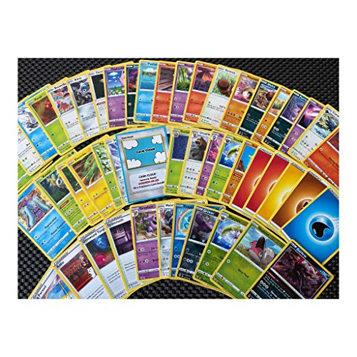 Card Cloud - 50x DARKNESS ABLAZE - Sword & Shield Pokemon Cards Bundle with Rare & Shiny Included