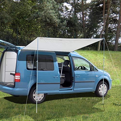 Reimo Tent Technology Sonnensegel Sonnenvordach CHARLYNE 2,2 x 2,4m für Minicamper mit langem Radstand