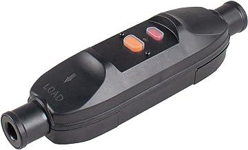 as - Schwabe Tussenschakelaar voor personenbescherming, 10 mA, veiligheidsschakelaar, 230 V/16 A, geschikt voor buiten, vo...