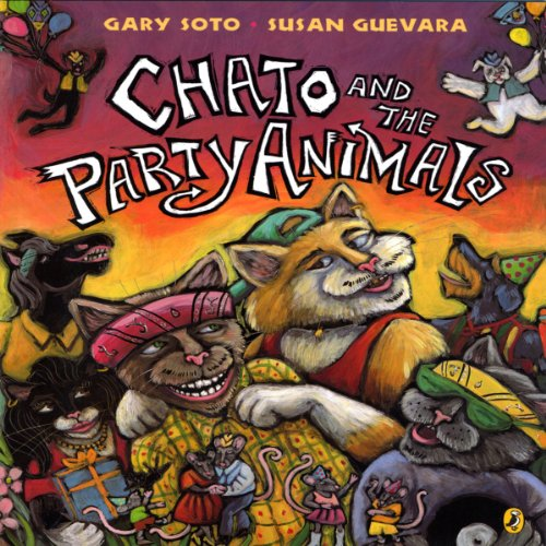 Chato and the Party Animals audiobook cover art