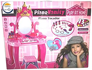Dressing Table with a piano, with accessories for children and a chair