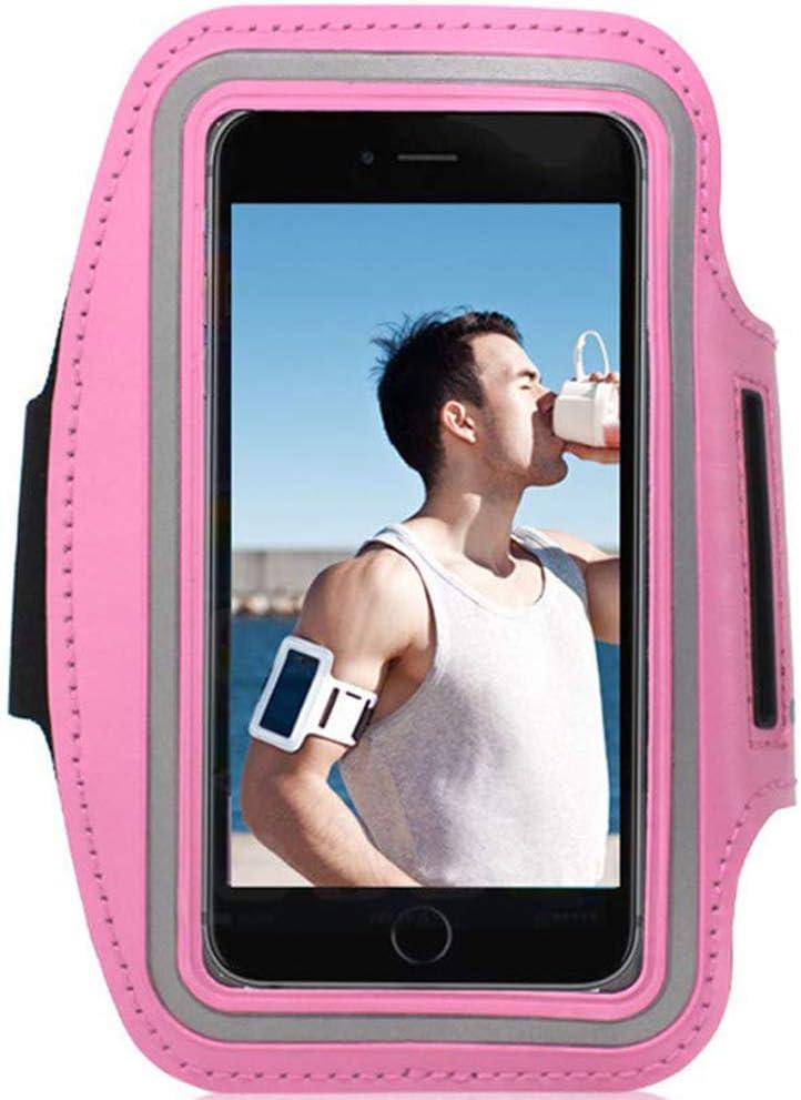 Prueba de Sudor para Apple iPhone//Huawei//Samsung//Xiaomi//Moto//Sony etc Sport Armband Reflectivo CHUER Funda Brazalete Deportivo Ajustable para Smartphone hasta 5.8