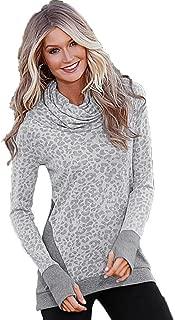 HYIRI Big New Womens Loose Casual Pullover Long Tops Shirt