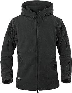 ReFire Gear Men's Warm Military Tactical Sport Fleece Hoodie Jacke